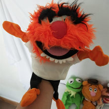 Free shipping The Muppet Show plush hand puppets ,drummer,The Swedish Chef, doll for kids toy dolls(China)