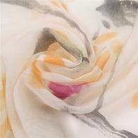 high grade hand painting 100%goat cashmere women fashion scarf shawl pashmina 70x180cm