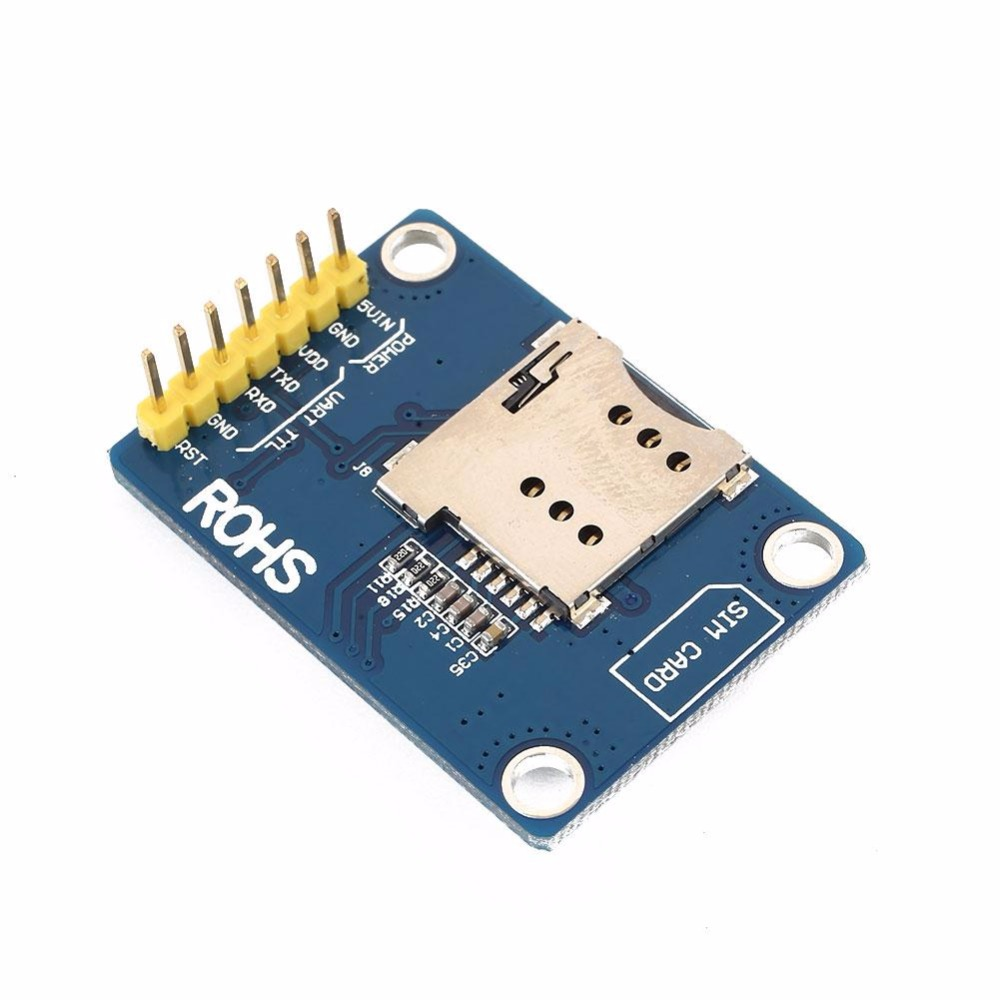 New For SIM800L GPRS GSM SIM Module Panel Quadband Antenna Worldwide Available DIY Development Boards Replacement Parts