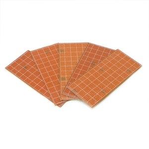 5 шт. 6,5x14,5 см полосатая доска Veroboard Uncut PCB Platine Односторонняя печатная плата