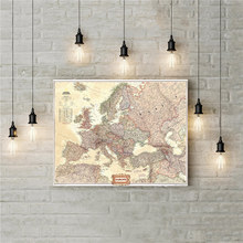 mapa europe RETRO VINTAGE