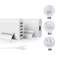 Multi-port usb adapter, universal charging head, 5 power adapter