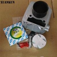 Xuankun GN250 блока цилиндров поршень atg поршневых колец и Подпушка цилиндр