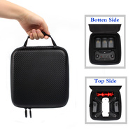DJI Spark PU Double Deck Waterproof Case Portable Hand Bag Carrying Suitcase for DJI Spark Drone Accessories