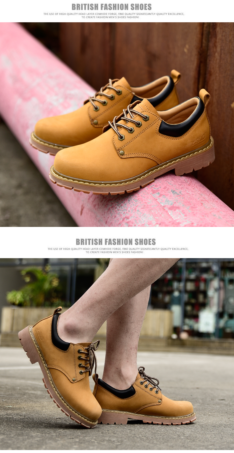 19 New Fashion Men's Genuine Leather Shoes Men Lace Up Oxford Flats Spring Autumn Comfortable Handmade Moccasins Men Shoes 14