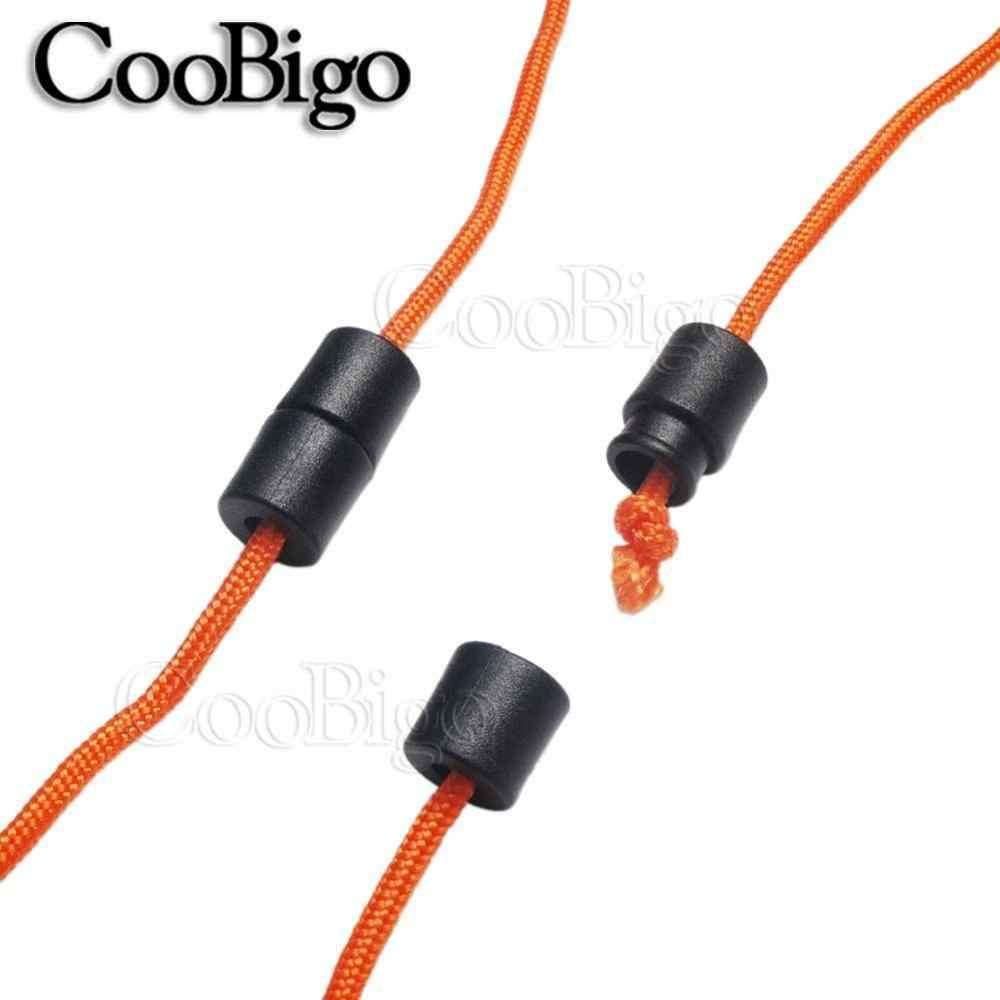 10 stücke Packung Bunte Kunststoff Schnallen Abtrünnigen Sicherheit Pop Barrel Stecker Verschluss Halskette Paracord & Band Lanyards # FLC090 (mix-s)