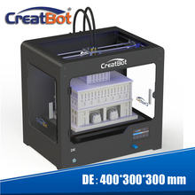 Creatbot Updated Metal Structure FDM 3D Printer build size 400*300*300 mm heated Bed with free Filament and LCD DE02