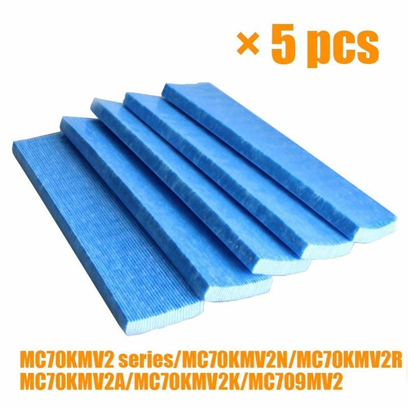 5pcs Air Purifier Filter For DAIKIN AC/MC Series Purifiers  KAC017A4 KAC006A4 Indoor Air Filters Home Air Purifier