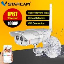 Ip-камера Vstarcam Wi-Fi 1080 P Водонепроницаемый IP67 Беспроводной Full HD ИК Ночное Видение безопасности Открытый CCTV Камера C16S
