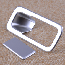 CITALL 2pcs ABS Chrome Car Interior Glove font b Box b font Cover Door Handle Trim