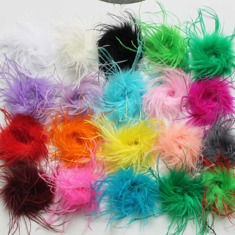 Crafts 8g Pack Exotic Feathers Mixed Colours Card Making etc