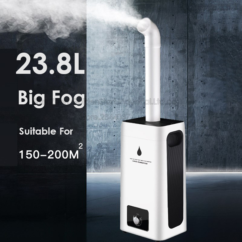 New H-550 Humidifier 23.8L Large Capacity Industry Air Humidifier Commercial Diffuser Sprayer Humidification Spray Machine