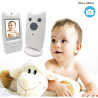 3.5 Inches Rotatable Baby Monitor Video Camera Wireless Surveillance Camera Bidirectional Communication Night Vision