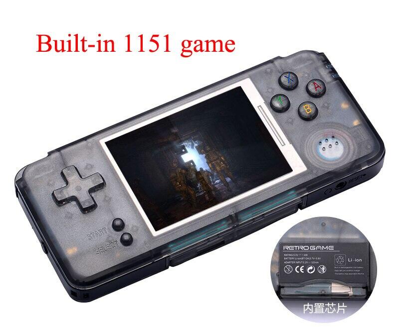 Coolbaby RS-97 RÉTRO De Poche Console de Jeu Portable Mini Vidéo Joueurs de Jeux MP4 MP5 Lecture Built-in1151 gamesChildhood Cadeaux