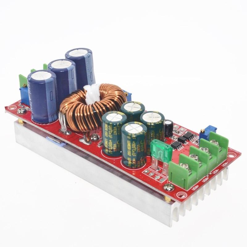 5 pcs/lot 1200 W 20A DC convertisseur Boost Module dalimentation en 8-60 V sortie 12-83 V5 pcs/lot 1200 W 20A DC convertisseur Boost Module dalimentation en 8-60 V sortie 12-83 V