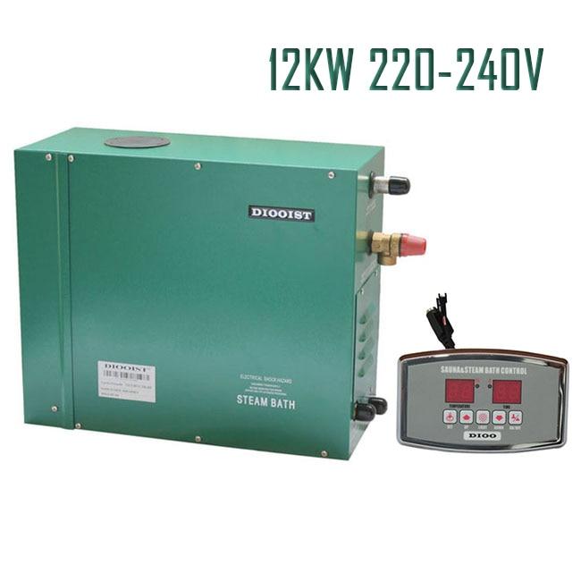 12KW220-240V 50/60HZ 1phase Steam Generator Shower ST-135M STEAM GENERATOR DIGITAL CONTROLLER COMPREHENSIVE FUNCTION SHOWER