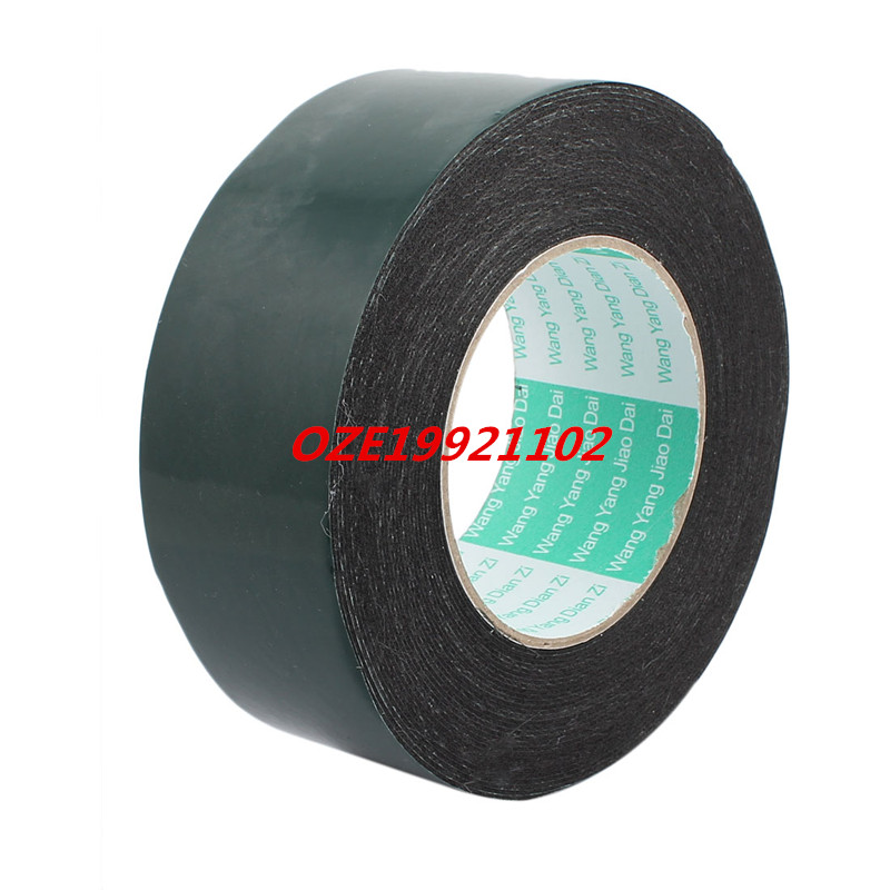 1PCS 50mm Width Double Sided Self Adhesive Shockproof Sponge Foam Tape 10M Length 2pcs 2 5x 1cm single sided self adhesive shockproof sponge foam tape 2m length