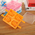 4 Grids Super Cool Autobots Shape Ice Cream Popsicle Mold Creative Ice Cube Tray Chocolate Jelly Pudding Mould DIY Kitchen Tools