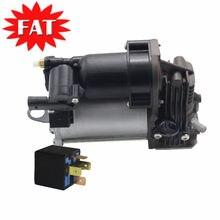 Compressor de suspensão a ar & relé para mercedes benz ml classe w164 gl classe x164 a1643200904 a1643201204 0025427619 0025422319