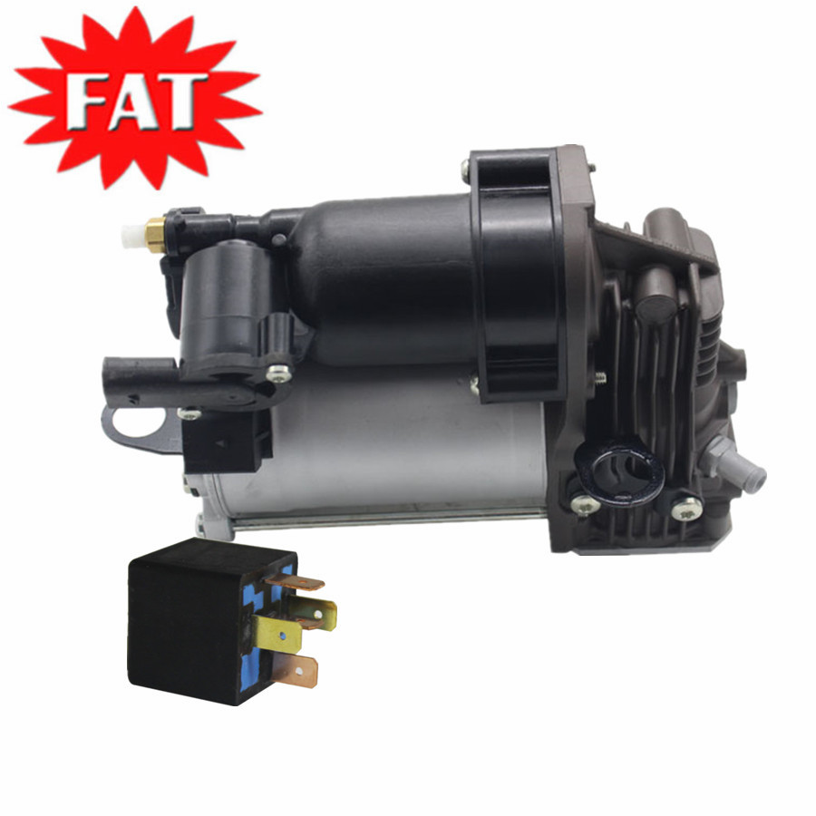 Air Suspension Compressor & Relay For Mercedes Benz ML Class W164 <font><b>GL</b></font> Class <font><b>X164</b></font> A1643200904 A1643201204 0025427619 0025422319 image