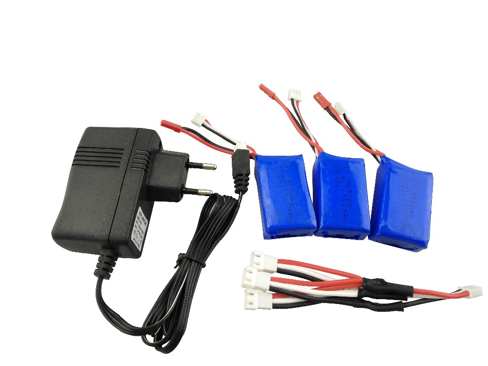 Battery Charging Cables : Wltoys battery charging set v charger with mah