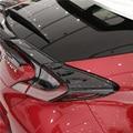 Водный трансферный Печатный задний тормозной светильник из углеродного волокна/украшение лампы  автомобильные Чехлы для TOYOTA C-HR CHR 2017 2018 авт...