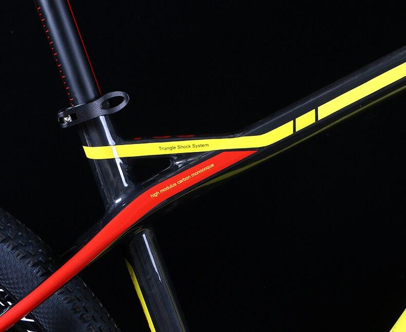 HTB1t9TXXgnH8KJjSspcq6z3QFXad - 27.5/29inch carbon fiber mountain bicycle Pneumatic shock 30/ 33 velocity carbon fiber body light-weight Cross nation weapon MTB
