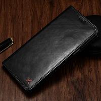 Original xoomz cartera para Apple iPhone 7 8 6 6 s más lujo Cuero auténtico Magnetic Flip funda Bolsas para el iPhone 8 más