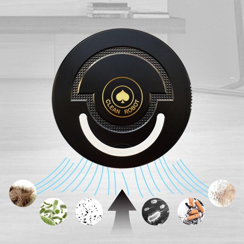 Picche un spazzare robot di ricarica per uso domestico macchina di pulizia automatica pigro intelligente aspirapolvere regalo all'ingrosso