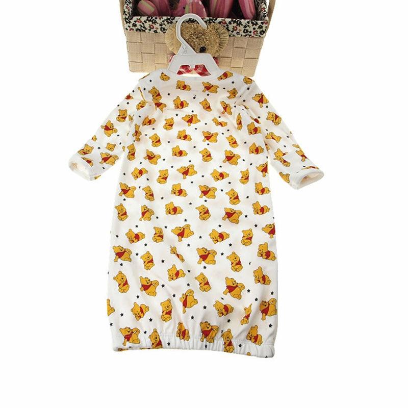 Nyfödda Lovely Baby Boy Girl Sängkläder & Knappar Sovsäckar Pajama Spädbarn Kuvert Design Sängkläder Baby Schlafsack Förhindra Sparka
