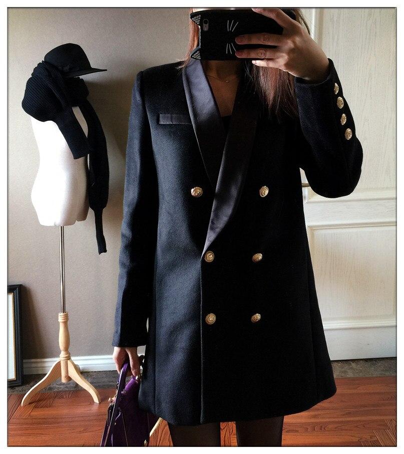 Popular Women Blazer Gold Button-Buy Cheap Women Blazer Gold ...