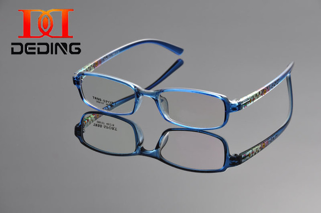78e76395a47d9 DEDING Quality Kids TR90 Optical Boys Girls Multi Color Light Weight TR90  Rectangle Glasses Frame Student