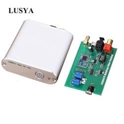 Lusya CSR8675 wireless Bluetooth 5.0 Receiver Board  APTX HD coaxial optical digital interface With Antenna T0158