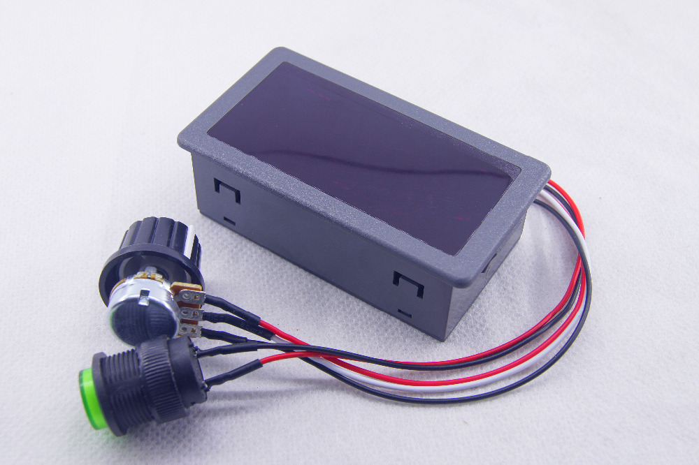 Digital Display Pwm Dc Motor Speed Controller 6v 9v 12v