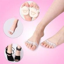 Женские короткие носки-башмачки, короткие женские носки на высоком каблуке, силиконовые Нескользящие невидимые носки