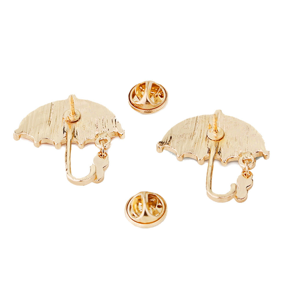 Bling Rhinestone Umbrella Personalized Brooch Decorative Garment  Accessories Wedding Bridal Brooch Pin Women Shirt Bag Accessory-in Brooches  from Jewelry ... 0d7ae031cd8b