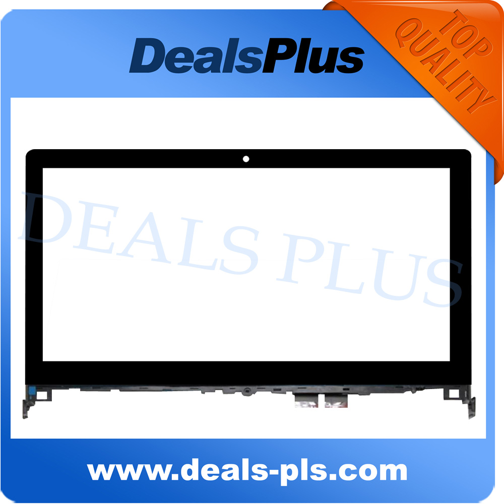 For Lenovo Flex2 Flex 2 14 Touch Screen Panel Digitizer Sensor with Bezel Frame 14-inch For Laptop Free Shipping