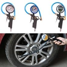 Air Pressure Inflator Gauge Meter Tester 0-220PSI 0-16bar Digital Tyre Pressure Gauge Tyre Tire Manometer