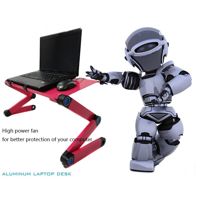 Laptop Schreibtisch Tragbare Verstellbare Aluminium Ergonomische Tv