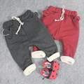 Winter Warm Cotton Fleece Esportes Fitness Kid Toddler Child Harem Pants Baby Boy Girl Trousers Bottoms