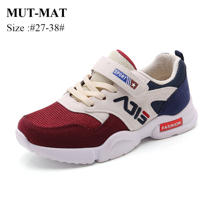 Children's Shoes Boys Girls Sports Shoes 2019 New Autumn Winter Fashion Non-slip Sneakers Size 27-38
