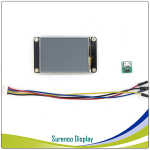 "Image 5 - 2.4 ""NX3224K024 Nextion משופר HMI USART UART סידורי Resistive מגע TFT LCD מודול לוח תצוגת Arduino פטל Pi"