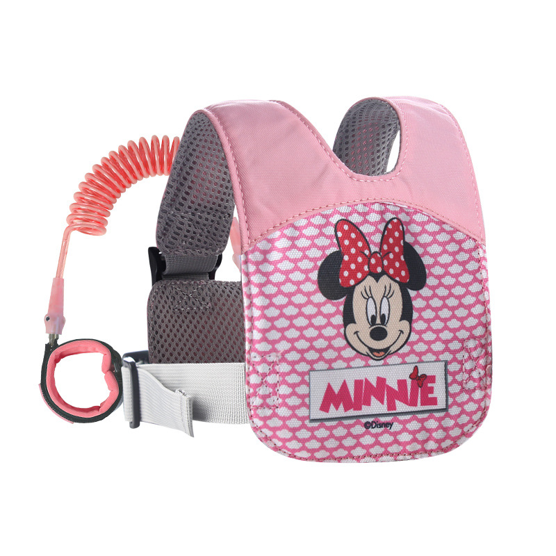 Disney 2 In 1 Anti Lost Wrist Link Toddler Leash Safety Harness Breathable Baby Strap Ro ...