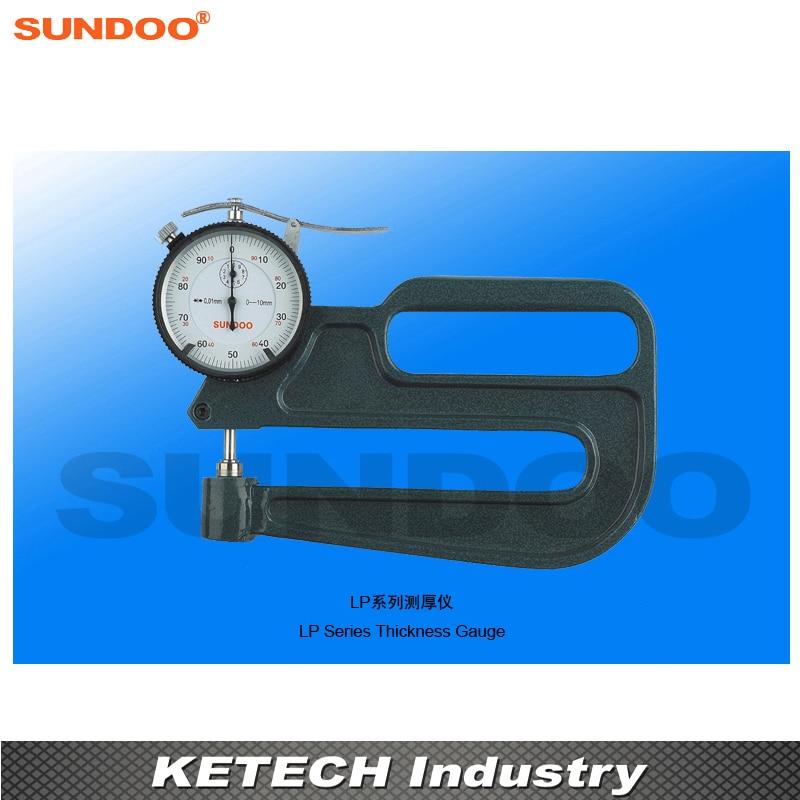 Sundoo LP-10120 Pointer Profundity Deep Throat Thickness Gauge thickness gauge deep throat measuring caliper 0 10 120mm depth