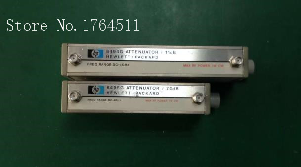 [BELLA] ORIGINAL 8494G+8495G DC-4GHZ 0-81dB 10+1dB Step SMA Programmable Step Attenuator