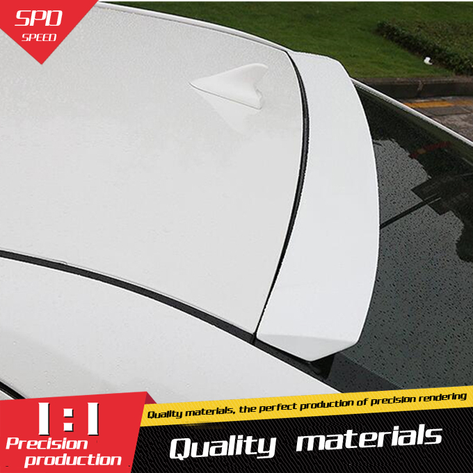 For Toyota Camry Roof Spoiler Abs Material Car Rear Wing
