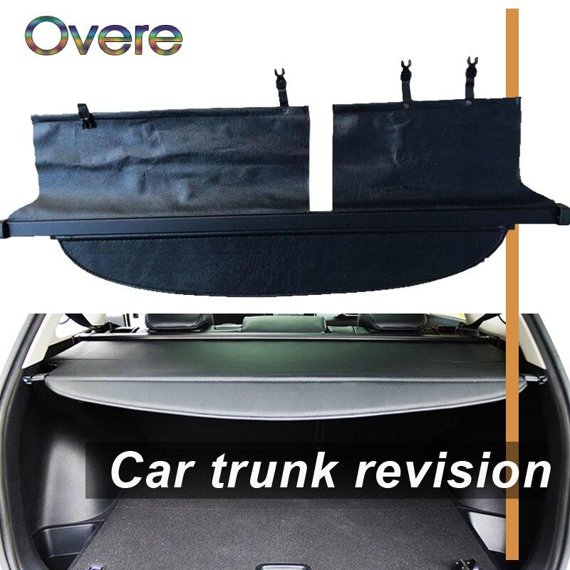 Overe 1 Set couverture de coffre arrière de voiture pour Toyota Corolla Fielder 2012 2013 2014 protection de sécurité ombre accessoires rétractables