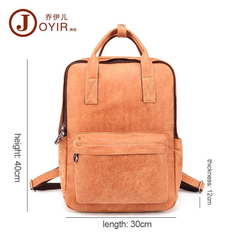 Открытый Досуг сумка 2019 новый мужской кожаный рюкзак большой емкости рюкзак ретро прочный рюкзак для путешествий мужская сумка - 6