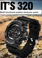 New LED Digital Sports Watch Men 30M Waterproof Shock Resistant Men WristWatches Fsashion Top sale Army Military Watch