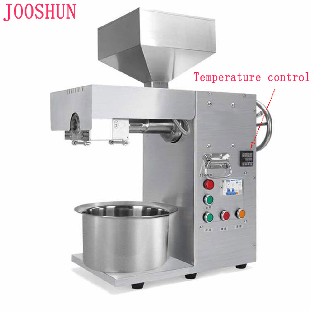 OPM-2000 Commercial Use Oil Press Machine Automatic Temperature control Coconut Flax seed Sunflower Seed Oil Extraction Machine Мельница